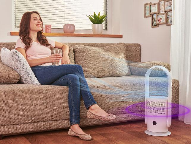Rovus Nano lapát nélküli ventilátor